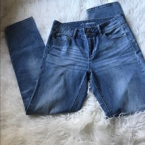 Victoria's Secret Straight Leg Hipster Jeans
